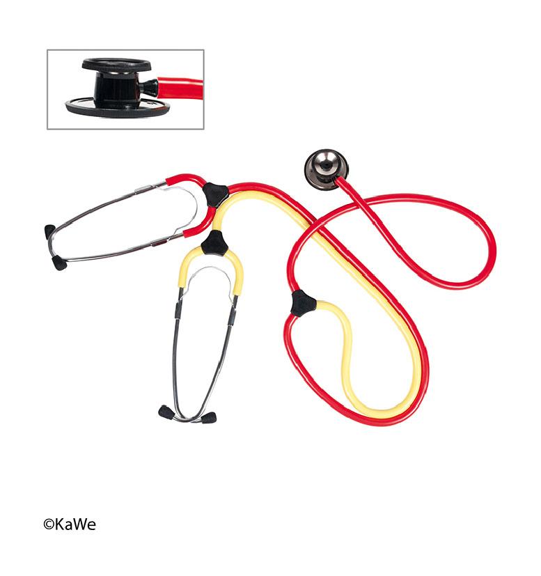0634200144 - Training stethoscope for nurses Duo