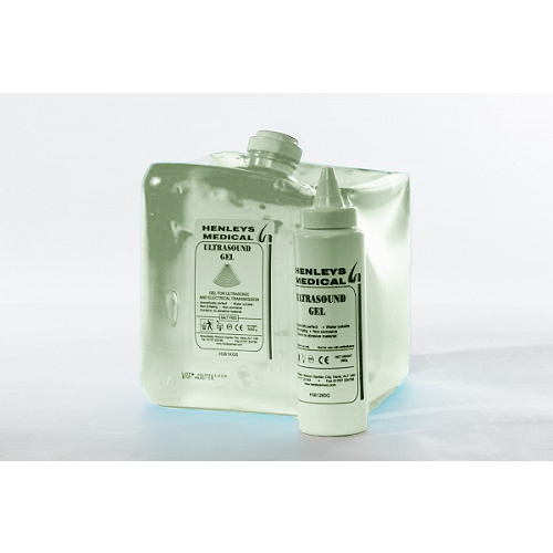 H361KG5C - 5000g Clear Ultrasound Gel Large Refill