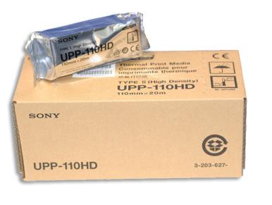 1 Roll SONY UPP110HA High Density Black and White Media Paper