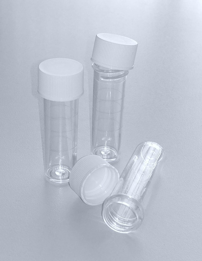 BT21B - Clear Plastic Tubes