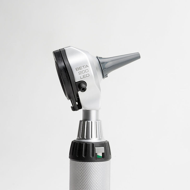 HEINE BETA® 200 LED Fibre Optic Otoscope Head Only B-008.11.500