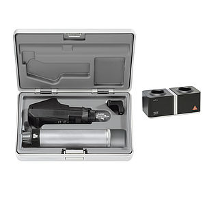 BETA200 Retinoscope Sets with BETA 4 NT Rechargeable Handle with NT 4 Table Charger (BETA200 Streak Retinoscope in LED and a hard case) LED C-034.24.420