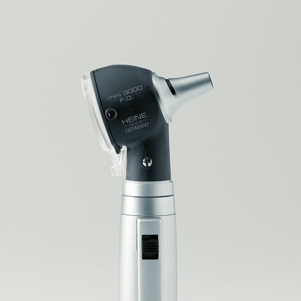 HEINE mini 3000® LED Fibre Optic Otoscope Head only D-008.70.106