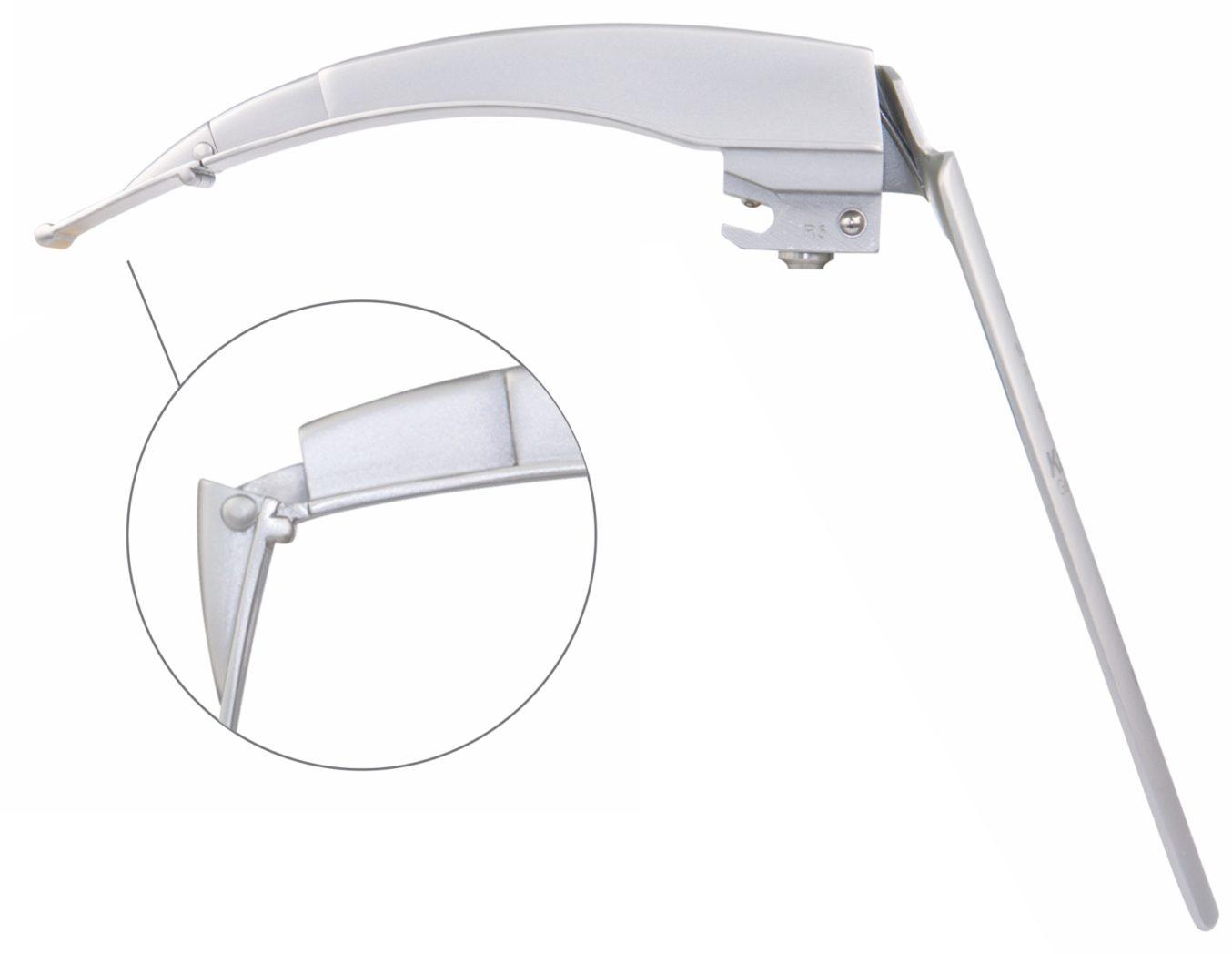 KaWe FLAPLIGHT F.O. MEGALIGHT Reusable Laryngoscope Blade