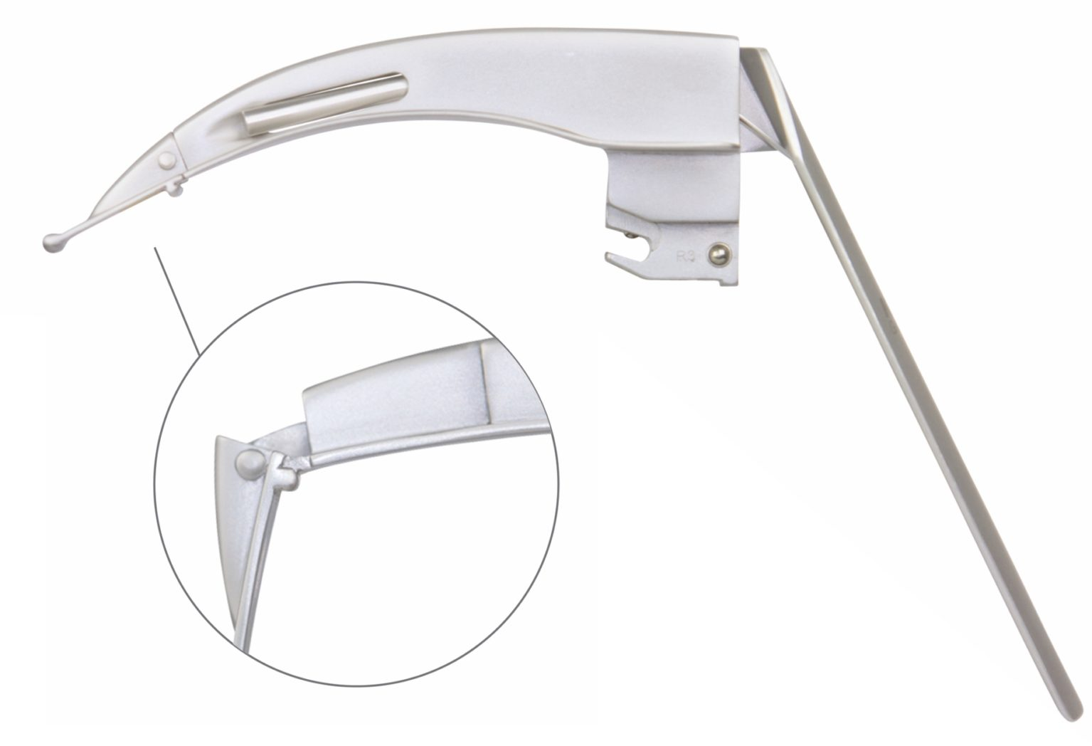 KaWe FLAPLIGHT F.O. Reusable Laryngoscope Blade