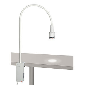 HEINE EL3 Exam Light with clamp for table top mounting