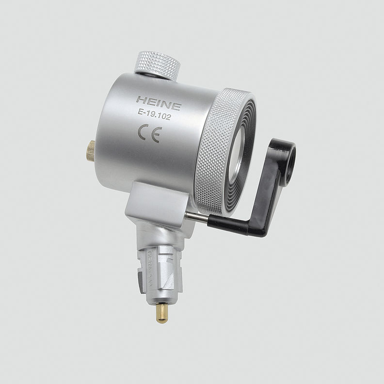 E-001.19.101 HEINE Anoscope / Proctoscope Illumination Head With Swivel Lens and Viewing Window