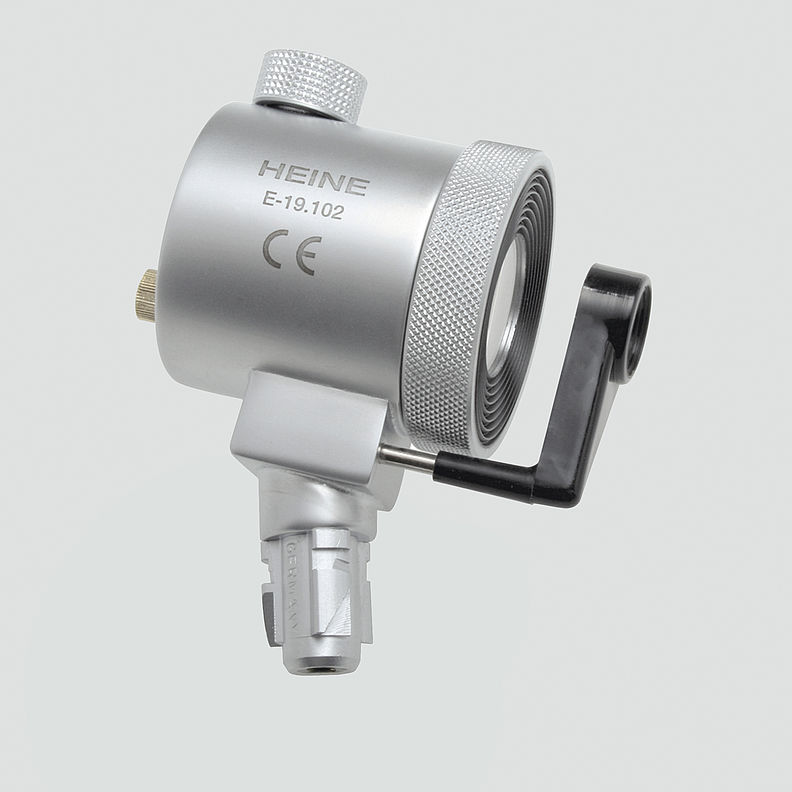 E-003.19.120 HEINE Anoscope / Proctoscope Illumination Head With Swivel Lens and Viewing Window